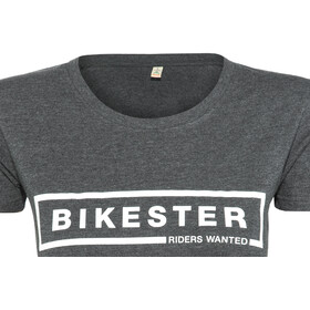 Bikester Logo Shirt Mujer, melange black